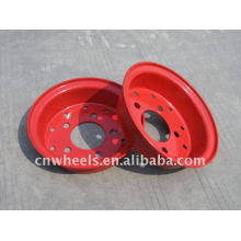 Utility forklift parts with forklift split wheel
